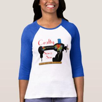 Crafty Sew and Sew Fun Sewing Theme Top