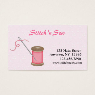 Crafty Sewing Business Card