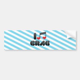Crag Bumper Sticker