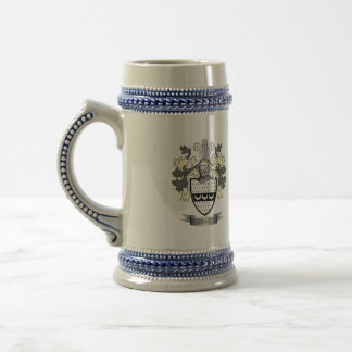 Craig Family Crest Coat of Arms Beer Stein