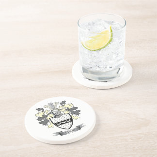 Craig Family Crest Coat of Arms Beverage Coasters