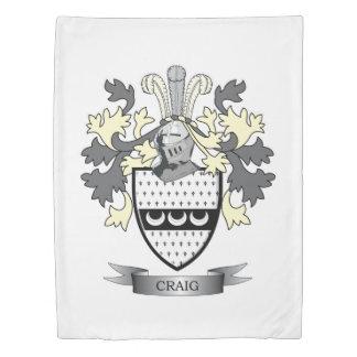 Craig Family Crest Coat of Arms Duvet Cover