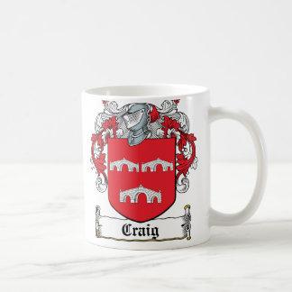 Craig Family Crest Coffee Mug