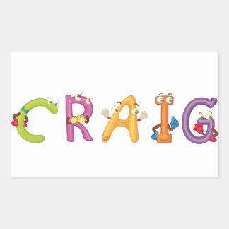 Craig Sticker