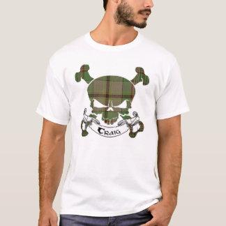 Craig Tartan Skull T-Shirt