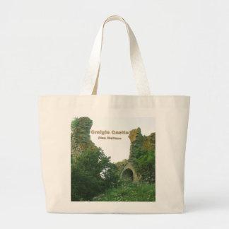 Craigie Castle – Clan Wallace Large Tote Bag