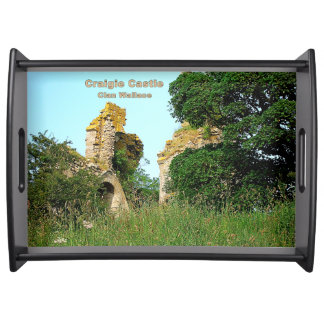 Craigie Castle – Clan Wallace Serving Tray