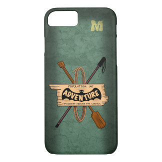 CRAKED EARTH ADVENTURE ICON by Slipperywindow Case-Mate iPhone Case