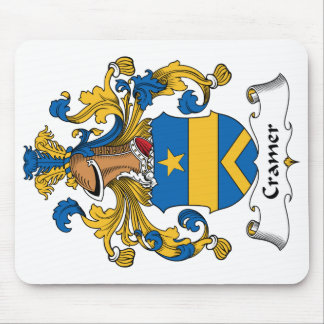 Cramer Family Crest Mouse Pad