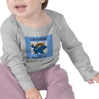 cramer  stock market investing joke shirts