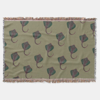 Cramp-fish Throw Blanket