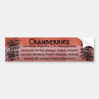 cranberries bumper sticker