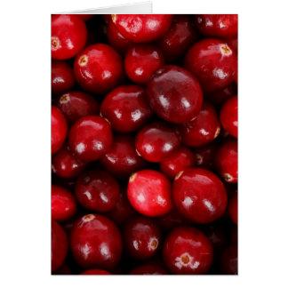 Cranberries Card