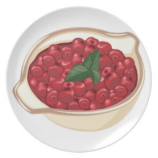 Cranberries Dinner Plate