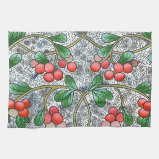 Cranberries Kitchen Towels