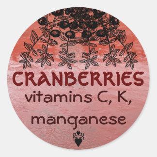 cranberries sticker