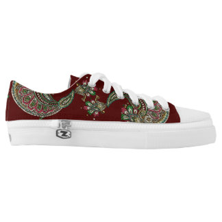 Cranberry Boho Low-Top Sneakers