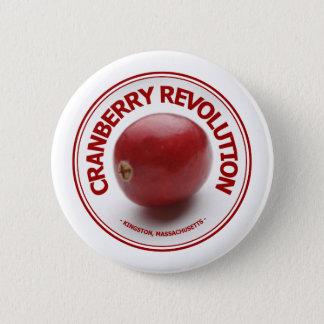 Cranberry Revolution 2 Inch Round Button