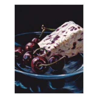 Cranberry Stilton with Cherries Letterhead