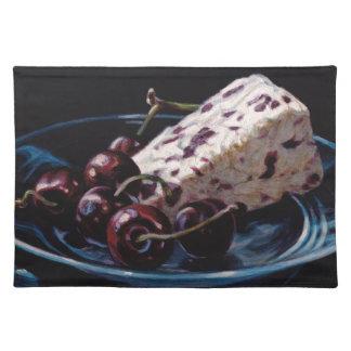 Cranberry Stilton with Cherries Placemat