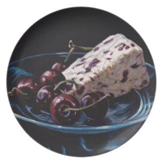 Cranberry Stilton with Cherries Plate