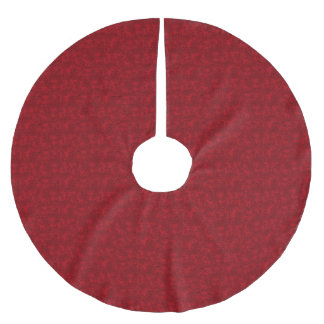 Cranberry Tree Skirt