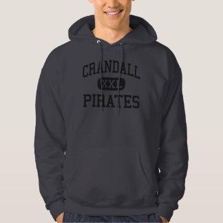 Crandall - Pirates - High School - Crandall Texas Hoodie