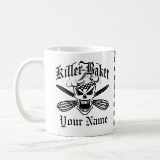 Crâne 2,2 de chef mug blanc