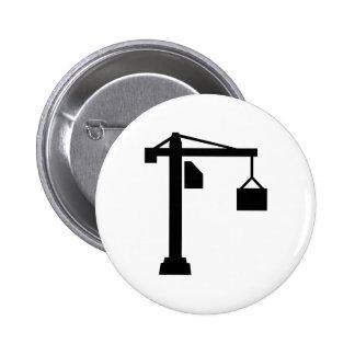 Crane 2 Inch Round Button