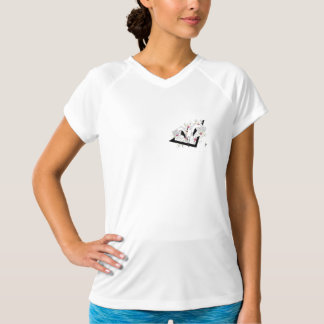 crane and flower T-Shirt