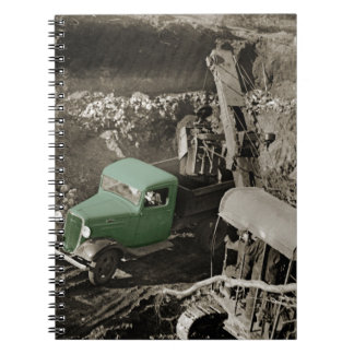 CRANE COLORSPLASH CHEVROLET OPERATING ENGINEER NOTEBOOK