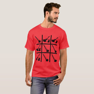 CRANE CRANE OPERATOR CRAWLER TIC TAC TOE BOARD T-Shirt