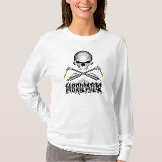 Crâne de constructeur : Torches croisées T-shirt
