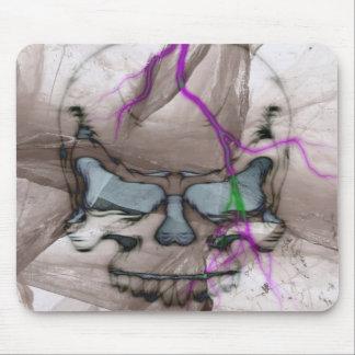 Crâne de saignement tapis de souris