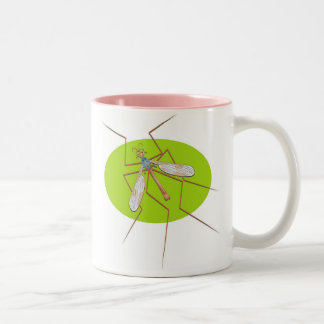 Crane Fly Two-Tone Coffee Mug