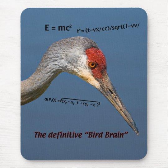 Crane Head Mousepad
