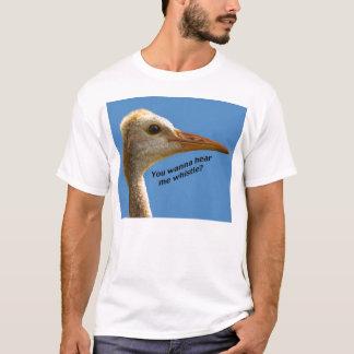 "Crane ""Hear Me Whistle"" T-Shirt"