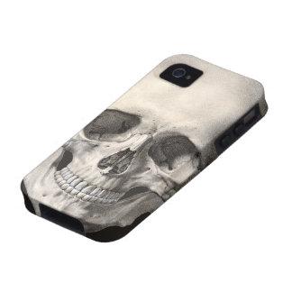 Crâne humain vintage d'anatomie, squelette de Hall Coque iPhone 4/4S