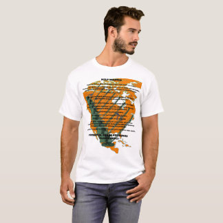 CRANE  OPERATOR APPLICATION SKILLS PLUS US MAP T-Shirt