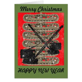 CRANE OPERATOR CHRISTMAS CARD OPERATING ENGINEER