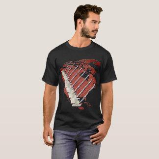 CRANE OPERATOR DIAMOND PLATE CRANE BRICK US MAP T-Shirt