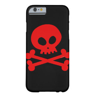 crâne rouge coque iPhone 6 barely there
