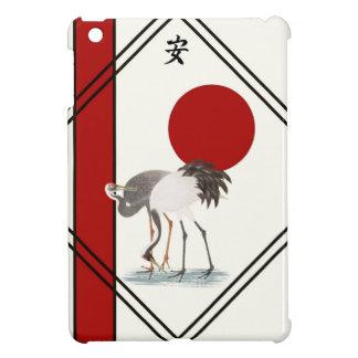 Cranes and Tranquillity iPad Mini Case