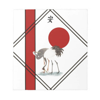 Cranes and Tranquillity Notepads