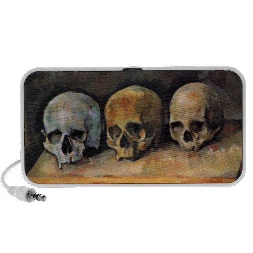 Crânes de beaux-arts haut-parleur iPhone