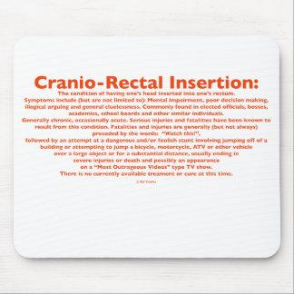 Cranio-Rectal Insertion Mousepad