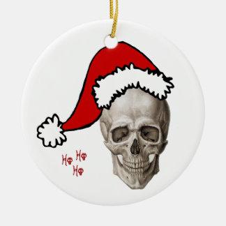 Cranium Christmas (2010) Round Ceramic Ornament