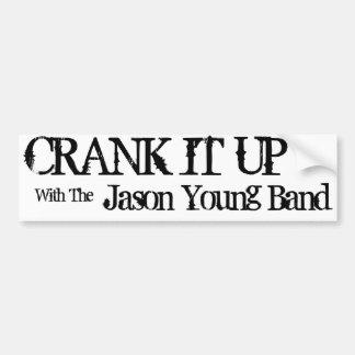 Crank It Up Bumper Sticker