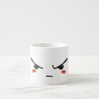 Cranky and grampy espresso cup