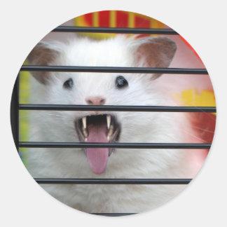 Cranky Critter Classic Round Sticker